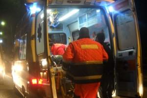 Ambulanza notte barella