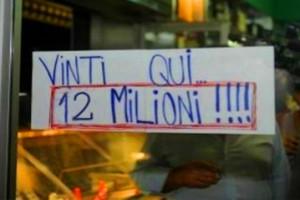Avezzano superenalotto 12 milioni