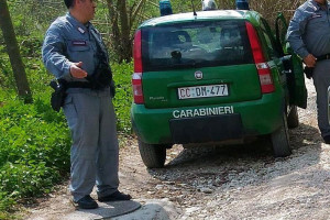 Carabinieri-Forestale-Guardia-Bracconaggio-Abruzzo-Notizie