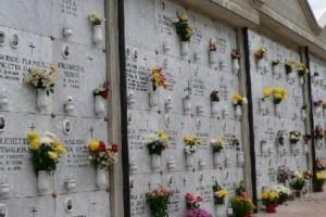 Cimitero tombe defunti