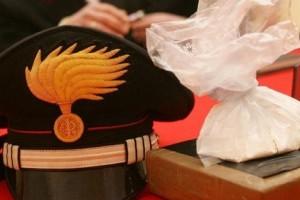 Cocaina arresto droga carabinieri