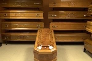 Cofano funebre cassa mortuaria