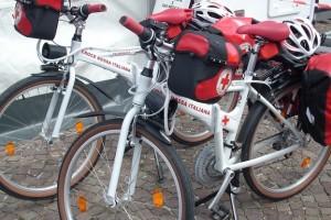 Croce rossa biciclette