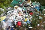 Discarica Rifiuti abbandonati inquinamento amianto Abruzzo Notizie