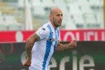 Pescara, tre gol al passivo contro la Reggina. Ora la pausa