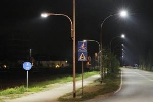 Illuminazione pubblica palo luce led