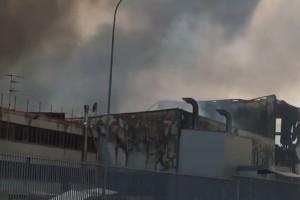 Incendio italpannelli Ancarano