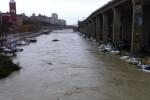 Maltempo pioggia Pescara Fiume piena golene