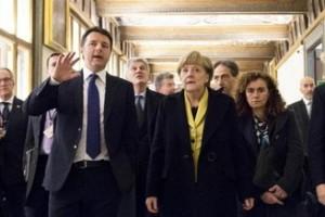 Merkel Renzi