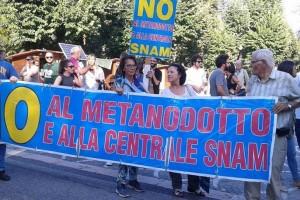 Metanodotto snam centrale Sulmona comitati Abruzzo Notizie