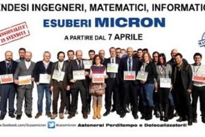 Micron vendesi ingegneri