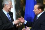 Insediamento del Presidente del Consiglio Mario Monti