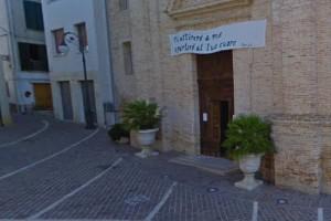 Moscufo piazza san cristoforo