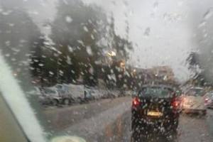 Neve pioggia maltempo auto