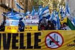 Ombrina mare protesta Roma