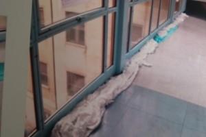 Ospedale Sulmona Acqua infiltrazioni