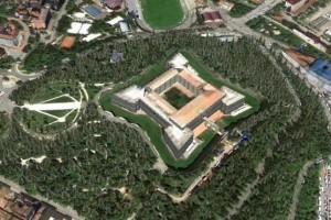 Parco del castello L'Aquila
