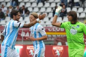 Pescara Sampdoria Perin cascione