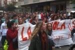 Pescara Scipero lavoratori Scuola