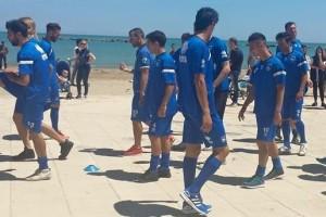 Pescara allenamento