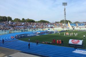 Pescara calcio stadio esultanza curva Nord Abruzzo Notizie