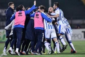 Pescara esultanza gol
