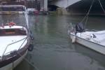 Pescara fiume piena maltempo porto