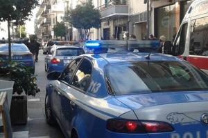 Pescara sparatoria centro polizia