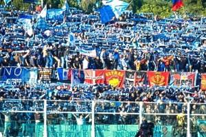 Pescara stadio tifosi curva adriatico ultras