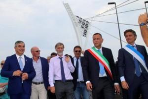 Ponte Flaiano inaugurazione