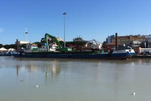 Porto Pescara fiume Dragaggio draga Abruzzo Notizie