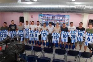 Presentazione Pescara giocatori 2015