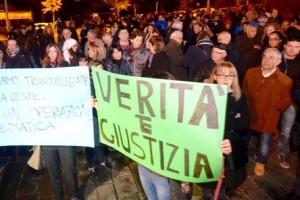 Protesta grandi rischi sentenza