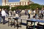 Protesta pescatori marineria pescara asse attrezzato