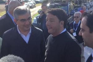 Renzi Matteo d'alfonso Abruzzo