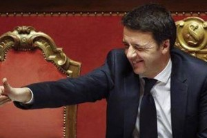 Renzi Parlamento felice