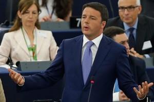 Renzi Ue Parlamento Europeo