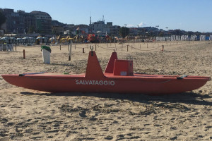 Salvataggio bagnino affoga mare spiaggia annegare Abruzzo Notizie
