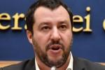 """Rapina in villa, la soddisfazione di Salvini: """"Rapinatore infame"""""""