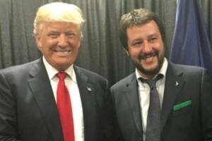 Salvini Trump