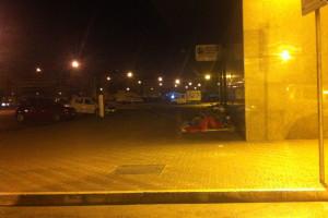 Stazione Pescara notte area risulta barboni Abruzzo Notizie