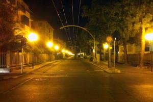 Strada Parco Notte Filovia Abruzzo Notizie