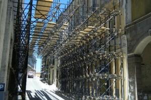 Terremoto Puntellamenti ricostruzione