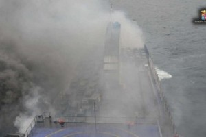 Traghetto fiamme Norman atlantic