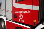 Incendio Martinsicuro, finestre chiuse e divieto raccolta verdure