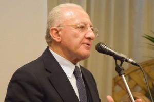 Vincenzo De Luca campania pd