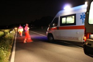 ambulanza Orsogna incidente