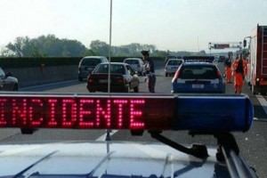 asse attrezzato incidente