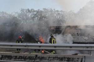 autobus a fuoco ferrovie del gargano Vasto Nord
