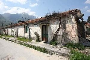 balsorano baracche terremoto 1915 marsica